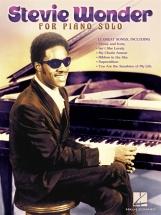 Wonder Stevie For Piano Solo Pf Solo Personality - Piano Solo