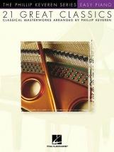 Keveren Phillip - 21 Great Classics - Easy - Piano Solo