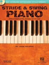 Valerio John - Stride And Swing Piano + Cd - Piano Solo