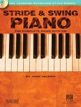 Valerio John - Stride And Swing Piano + Cd - Piano Solo