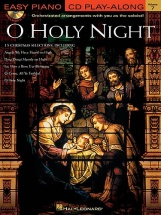 Easy Piano Cd Play-along Volume 7 - O Holy Night + Cd - Piano Solo