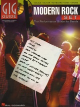 Gig Guide Modern Rock Set Performance Guide For Bands + Cd - Guitar Tab