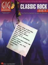 Gig Guide Classic Rock Set Performance Guide For Bands + Cd - Voice