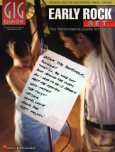 Gig Guide Early Rock Set Performance Guide Bands + Cd - Bass Guitar