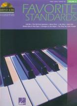 Piano Play Along Vol.15 - Favorite Standards + Cd