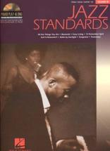 Piano Play Along Vol.18 - Jazz Standards + Cd - Pvg