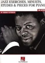 Peterson O. - Jazz Exercices Minuets Etudes & Pieces- Piano