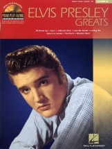 Elvis Presley Greats - 36-piano Play-along Book With Cd - Pvg
