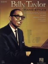 Billy Taylor Piano Styles - Piano Solo