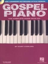 Cowling Kurt - Gospel Piano + Cd - Piano Solo