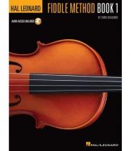HAL LEONARD FIDDLE METHOD BOOK 1 VIOLIN + MP3 - VIOLIN