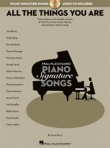 Signature Song Series Jerome Kern All The Things You Are + Cd - Piano Solo