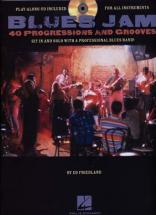 Blues Jam 40 Progressions & Grooves + Cd
