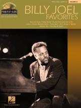 Piano Play Along Volume 61 - Billy Joel Favorites + Cd - Pvg