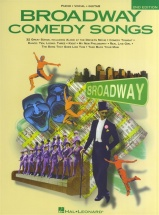 Broadway Comedy Songs 2nd Edition - Pvg