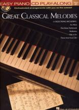 Easy Piano Play Along Vol.21 - Great Classical Melodies + Cd