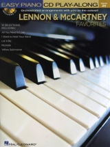Lennon And Mccartney Favorites+ Cd - Piano Solo