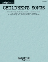 Budget Books Children's Songs - Piano Solo