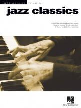 Jazz Piano Solos Volume 14 Jazz Classics Songbook - Piano Solo