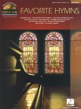 Piano Play-along Volume 89 Favorite Hymns Piano + Cd - Pvg