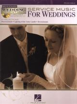 Service Music For Weddings Piano Solo + Cd - Piano Solo