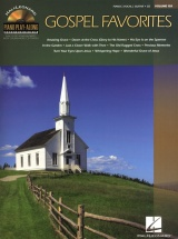 Piano Play Along Volume 103 Gospel Favorites Piano + Cd - Pvg