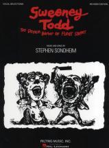 Sondheim Stephen - Sweeney Todd Revised Edition