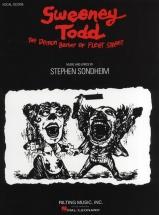 Stephen Sondheim - Sweeney Todd - Vocal Score Book