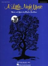 Stephen Sondheim A Little Night Music - Pvg
