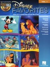 Piano Solo Play Along Volume 1 Disney Favorites + Cd - Piano Solo