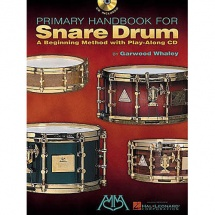 Garwood Whaley Primary Handbook For Snare Drum Drums + Cd - Drums