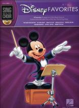 Sing With The Choir Vol.7 Disney Favorites + Cd