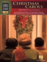 Sing With The Choir Volume 13 Christmas Carols Choral + Cd - Satb