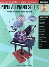 Popular Piano Solos - 3rd Grade - Pop Hits, Broadway, Movies And More! - Piano Solo