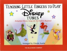 Teach Little Fingers To Play Disney Tunes - Piano Solo
