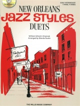 William Gillock New Orleans Jazz Style Duets + Cd - Piano Duet