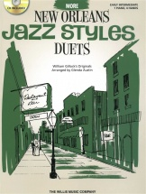 William Gillock More New Orleans Jazz Styles Duets + Cd - Piano Duet