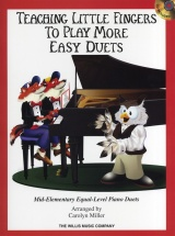 Teaching Little Fingers To Play More Easy Duets Piano Duet + Cd - Piano Duet