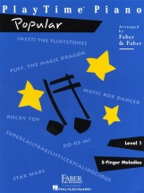 Faber Nancy Randall Playtime Piano Popular Level 1 - Piano Solo