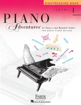 Faber Nancy Randall Piano Adventures Sightreading Book Level 1 - Piano Solo