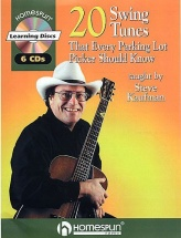 20 Swing Tunes That Every Parking Lot Picker Should Know Tab + 2cd - Guitar Tab