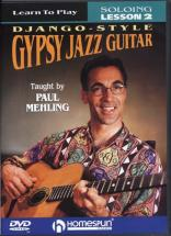 Meling Paul -  Gypsy Jazz Guitar - Django Style Lesson 2 : Soloing - Guitare