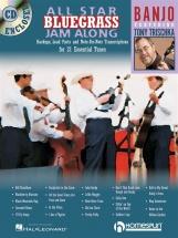 All Star Bluegrass Jam Along Banjo + Cd - Banjo
