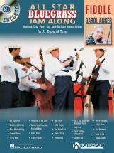 All Star Bluegrass Jam Along Fiddle + Cd - Violin