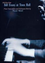 Evans Bill - At Town Hall Selections - Piano
