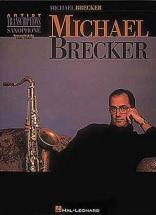 Brecker Michael Artist Transcriptions Sax