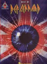 Def Leppard - Best Of - Guitar Tab