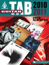 Guitar Tab 2010 2011 12 Of The Hottest Hits Guitar Rec Vers - Guitar Tab