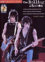 Rolling Stones - Guitar Signature Licks + Cd - Guitar Tab