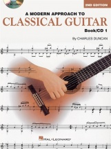 A Modern Approach To Classical Guitar Book 1 With Cd + Cd - Guitar